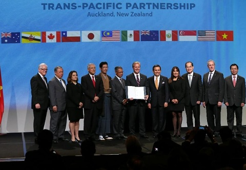 Trans-Pacific Partnership was formally signed.