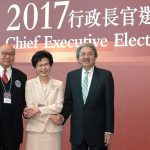 Beijing-favored candidate won Hong Kong's chief executive election