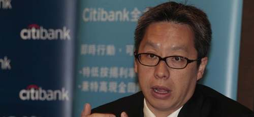 Citibank's Lawrence Lam forecasts a 7 percent drop in property prices from the middle of September to the end of March next year.