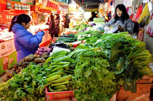 HK's consumer prices up 3% was mainly due to a price hike of fresh vegetables.