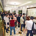 Hot sale of new homes in HK