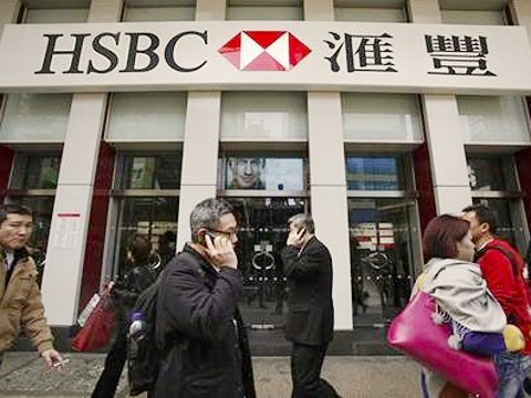 A branch of HSBC, Hong Kong