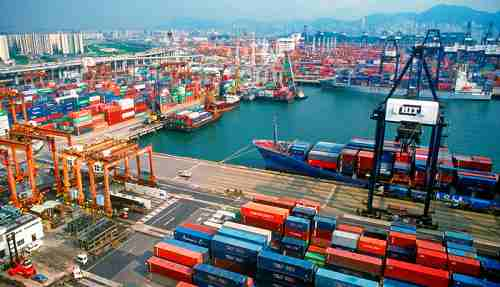 News Hong Kong S Port Business On Sliding Trend Incorporation